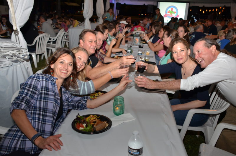 richie-moretti-cheers-to-celebrate-the-turtle-hospitals-30th-year
